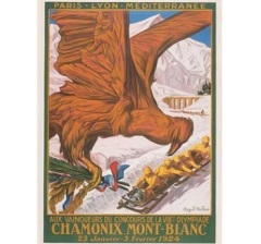Открылись I зимние Олимпийские игры в Шамони (Франция)