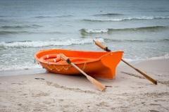 В Англии впервые в мире испробована на море спасательная шлюпка