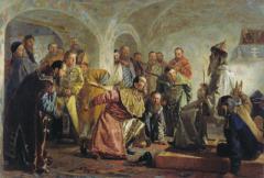 Иван Грозный учредил опричнину