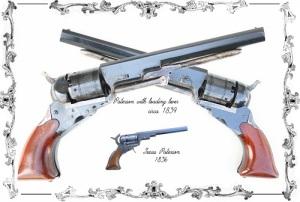 Сэмюэл Кольт получил первый патент на автоматический револьвер