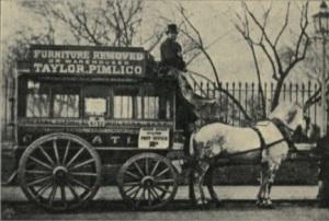 В Париже начала действовать первая служба общественного транспорта
