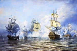 Петр I повелел открыть школы обучения мореходному делу только для русских подданных