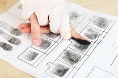 Впервые в мире для опознания преступника была применена дактилоскопия