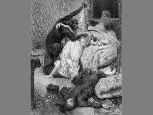 Опубликован первый в истории литературы детективный рассказ «Убийство на улице Морг» Эдгара По