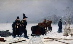 В Петербурге состоялась дуэль между Пушкиным и Дантесом