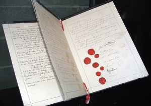 Подписана первая Женевская конвенция