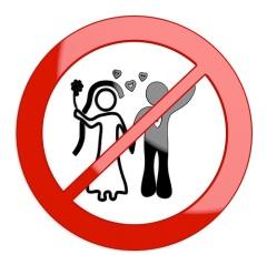 В СССР запрещены браки между советскими гражданами и иностранцами