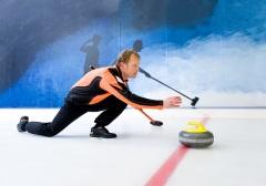 Кёрлинг — на Олимпийских играх прошли демонстрационные соревнования по кёрлингу
