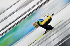 Прыжки на лыжах с трамплина — вид спорта впервые вошел в программу Олимпийских игр