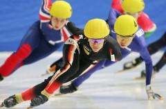 Шорт-трек — состоялся дебют показательных выступлений шорт-трека на Олимпийских играх