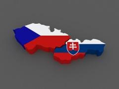 Произошел распад Чехословакии