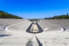 Греческий стадион «Панатинаикос» стал ареной первых Олимпийских игр современности
