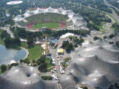 В Мюнхене открыт стадион «Олимпиаштадион»