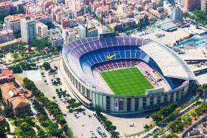В Барселоне состоялось открытие стадиона «Камп Ноу»