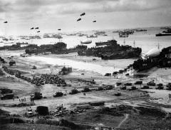 Началась Нормандская операция, открывшая «второй» фронт в годы Второй мировой войны