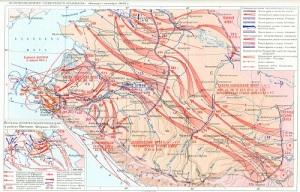 Началось контрнаступление советских войск в битве за Кавказ