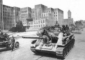 Минск освобожден от немецко-фашистских захватчиков