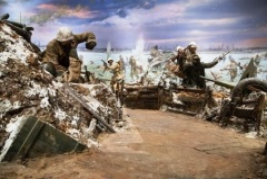 Состоялось открытие панорамы в экспозиции музея-заповедника «Прорыв блокады Ленинграда»