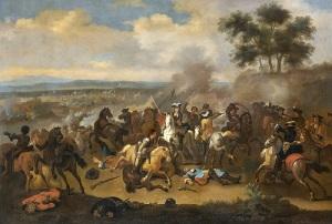 Произошла битва на реке Бойн