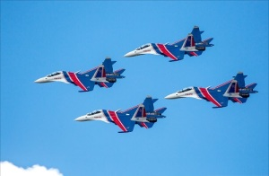 День рождения авиационной группы «Русские Витязи»