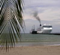 Портовый город Пунтаренас (Коста-Рика)