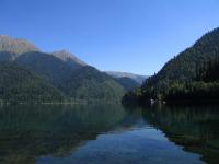 Горное озеро «Рица», Абхазия