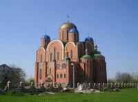 Храм современной постройки