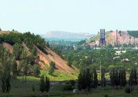 Вид на шахту «Центральная»