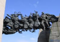 Мемориал в честь защитников Изюмского плацдарма