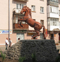 Один из символов Конотопа – Конь