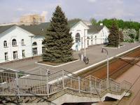 Вокзал станции Лубны