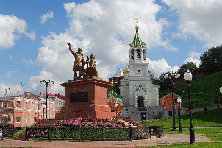 В 2004-м году копия монумента была отправлена в Нижний Новгород, на родину вождей народного ополчения 1612-го года.