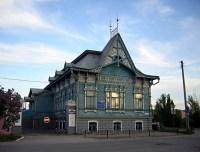 В бывшем поместье мещанина М. Чернухина сейчас находится Выставочный зал