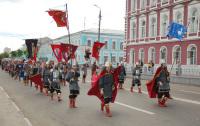 Исторический парад в Коломне