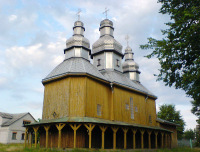 Деревянная Покровская церковь