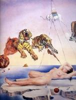"""""""Сон, вызванный полётом пчелы вокруг граната за секунду до пробуждения"""" (1944)"""