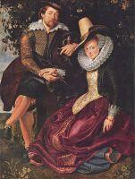 Автопортрет с Изабеллой Грант (1609)