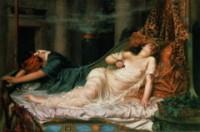 Смерть Клеопатры. Картина Регинальда Артура