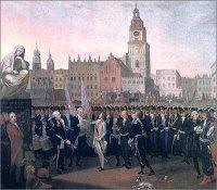 Присяга Тадеуша Костюшко на краковском рынке (1797)