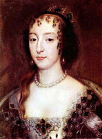 Портрет Генриетты Французской, королевы Англии