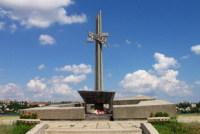 Стелла памяти по погибшим в Великой Отечественной войне