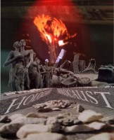 «Апокалипсис Холокоста» (Фотоколлаж Льва Левинсона)