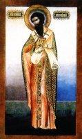 Преподобный Георгий, митрополит Митиленский (икона 19 века, Кипр)