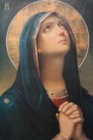 Икона Девы Марии (Фото: Bogdan VASILESCU, Shutterstock)