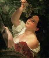 Известная картина К.Брюллова «Итальянский полдень»