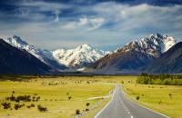 Южные Альпы в Новой Зеландии (Фото: Pichugin Dmitry, Shutterstock)