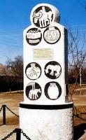 Мемориальный монумент на Майкопском кургане «Ошад» (Фото: www.admins.maykop.ru)