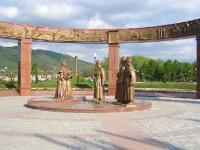 Владикавказ. Фрагмент Мемориала Славы