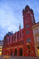Базельская ратуша (Фото: 50u15pec7a70r, Shutterstock)