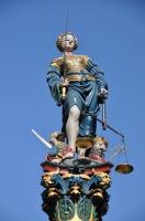 Фрагмент фонтана «Юстиция» - одного из всемирно известных бернских фонтанов (Фото: Alexander Chaikin, Shutterstock)